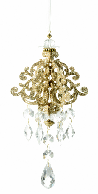 Chandelier Ornament, Christmas