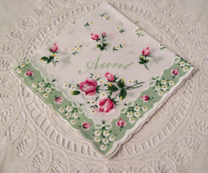 Aunt Handkerchief, Free Shipping!