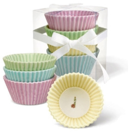 Cupcake Themed Dishes, Set Of 4