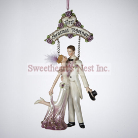 First Christmas Ornament, Victorian-Style, Free Shipping!