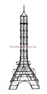 French Black Eiffel Tower, 12""
