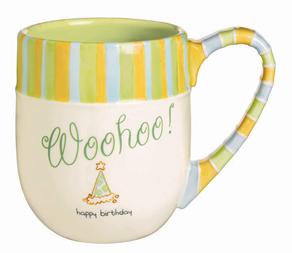 Happy Birthday Woohoo! Mug
