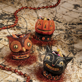 Jolly Spook Candy Buckets, Set of 3, Johanna Parker, Bethany Lowe