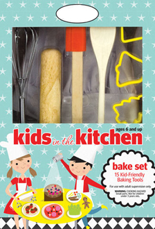Kids In The Kitchen Baking Set