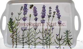 Lavender Fields Tray, Large