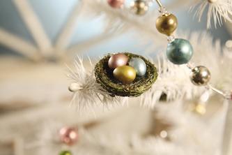 Mini Bird Nest Clips, Bethany Lowe, Set of 6