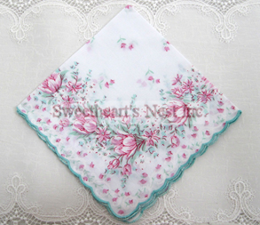 Perfect Love Tulips Handkerchief, New! Free Shipping!