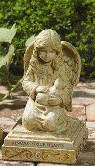 Cat Angel Memorial, Pet