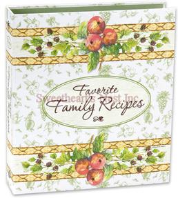 Cottage Garden Recipe Journal
