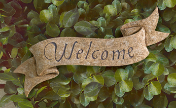 Country Estate Welcome Plaque