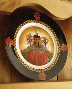 Autumn Splendor Dinner Plates, Set Of 4