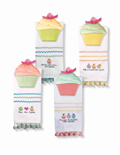 Cupcake Guest Towel & Soap Dish, 4 Styles To Choose From!