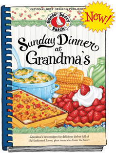 Gooseberry Patch Sunday Dinner At Grandma's Cookbook, Free Shipping!