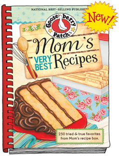 Gooseberry Patch Mom's Very Best Recipes, Free Shipping!