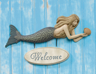 Mermaid Welcome Sign