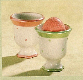 Pastel Egg Cups, Set Of 2