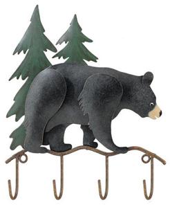 Woodland Bear Key Hook