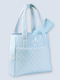 Bedford Classic Blue Diaper Bag For Baby Boys