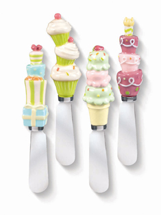 Birthday Party Spreaders, Set Of 4