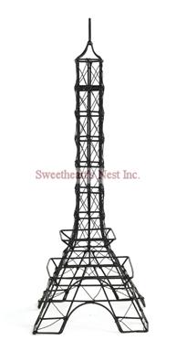 """French Black Eiffel Tower, 12"""""""