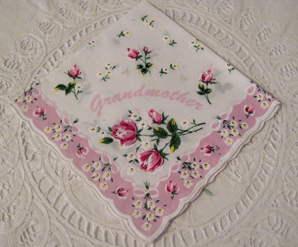 Grandmother Handkerchief, Free Shipping!