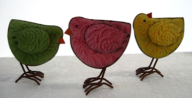 Spring Chicks, Set of 3