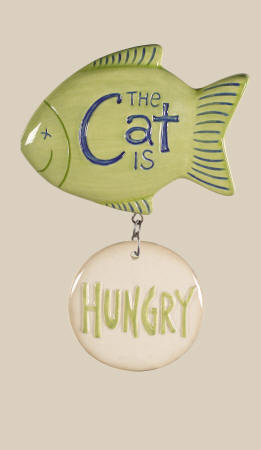 Cat Fish Fed Or Hungry Magnet