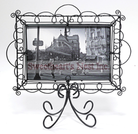 "French Inspired Black Frame, 4"" x 6"""