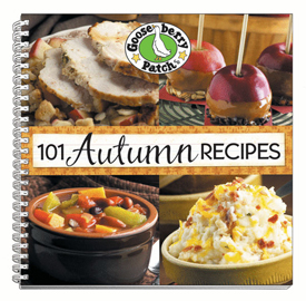 Gooseberry Patch 101 Autumn Recipes, Free Shipping!