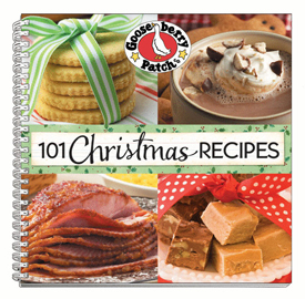 Gooseberry Patch 101 Christmas Recipe Cookbook, Free Shipping!