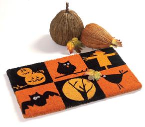 Halloween Spooktacular Coir Doormat