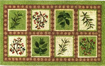 Herb Coir Doormat