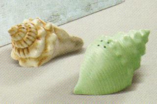Seashell Salt & Pepper Shakers